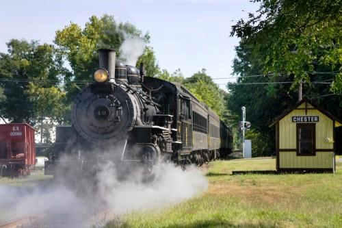 Essex Steam Train #40 at Chester