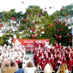 Valley Regional High School Class of 2011 Celebrates Their Success (photo courtesy of Kirsten Rioux)