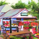 Farm Stand by Cindy Stevens