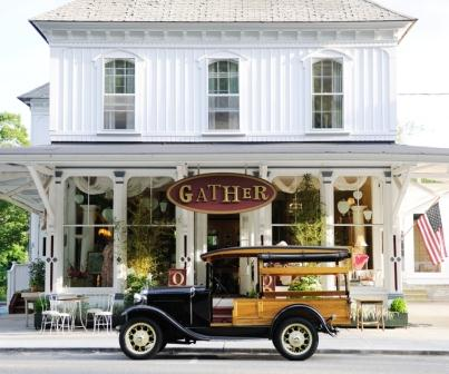 Gather  today.  The building is practically unchanged from a century ago when it served as the location of the Rose Brother's Store (photo by Jody Dole)