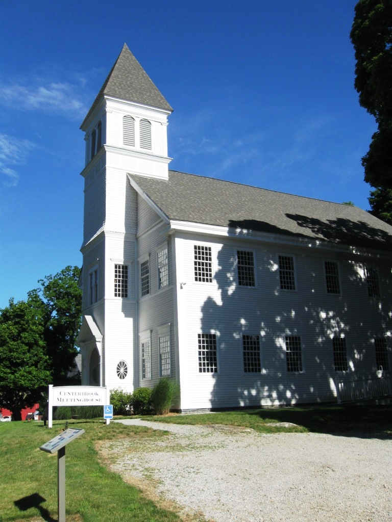 Centerbrook Meeting House, the winner of 2nd Annual Preservation Award of Essex Historical Society