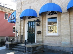 Exterior of Chester's new vegan favorite, 6 Main Restaurant