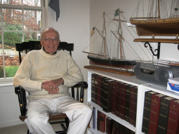 C. Allan Borchet, former Chairman, Residents Council of Essex Meadows and model shipbuilder