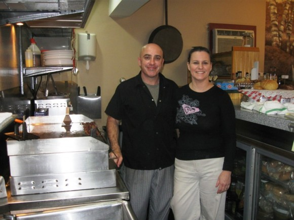 Villager owners Frank and Diane Voccia, a new menu coming up