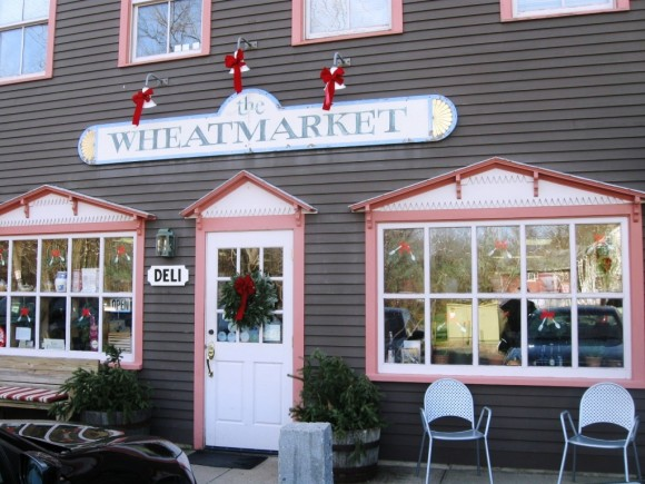 Exterior of the popular Wheatmarket down on Water Street