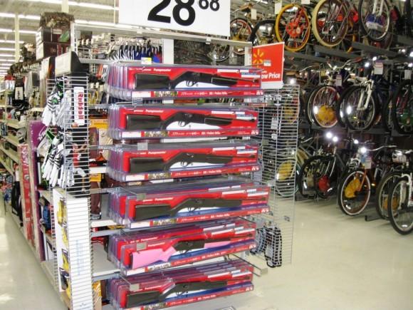 BB guns for sale at Walmart