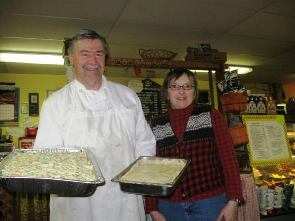Chef Daniel and Joan Welch, owners of the Wheatmarket