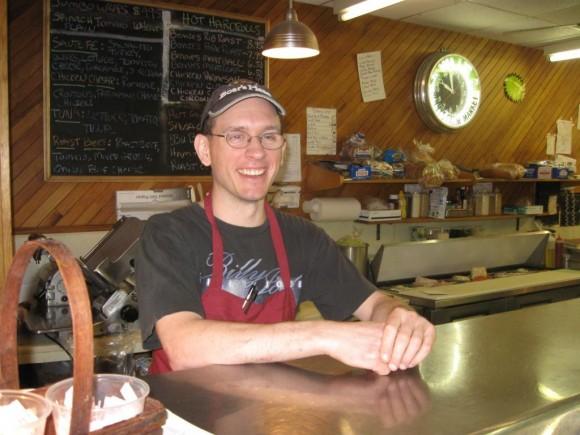 Bennie's Deli Manager Karl Kukusch, a 13 year store veteran