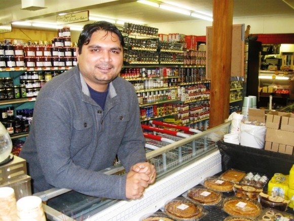 Sky Patel, the family member in overall charge of the new Bennie's