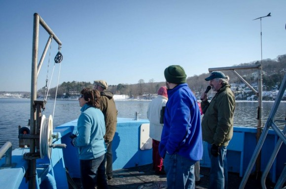 Naturalist and lecturer Bill Yule provides interesting and informative information on all wildlife species seen along the river throughout the cruise