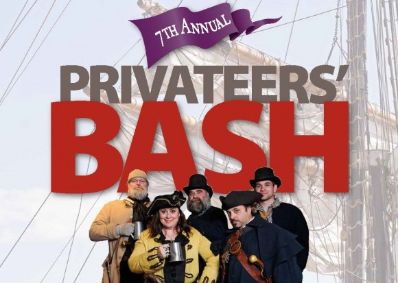 Free Men of the Sea will lend their voice to the Connecticut River Museum's Privateers' Bash on March 2.