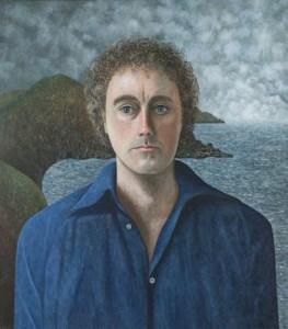 """Portrait of Frederick Kirwin"" oil/linen 34"" x 30"" by Scott Kahn"