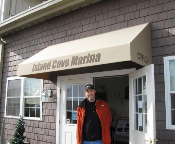 Keith Hultmark, Marina Manager at Island Cove Marina
