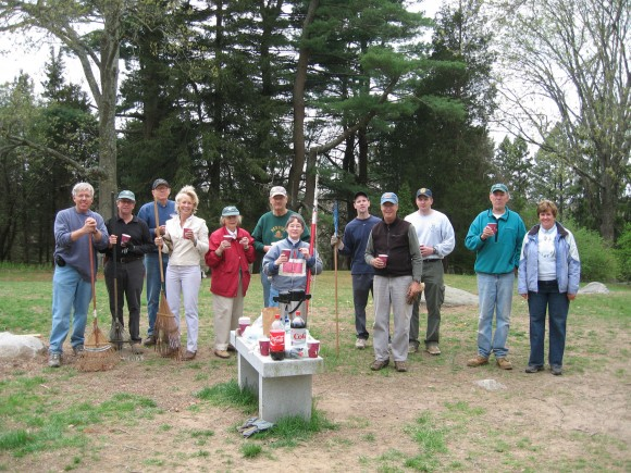 Join the Cross Lots Property Spruce-up, Saturday April 6, 9 a.m. - 12 noon