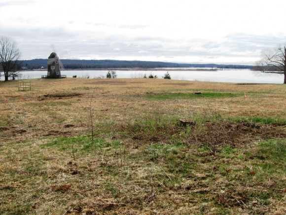 Part of the Foxboro Point development site, recently cleared of trees
