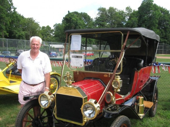 Bruce MacMillan and his 1912 Ford Model T Touring Car