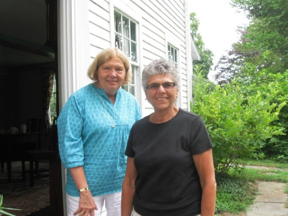 Co-Docent Coordinators (l to r), Mary Ann Pleva and Bette Taylor