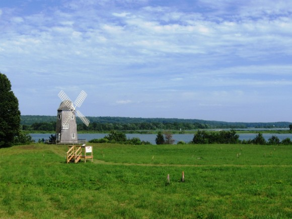 The iconic windmill on the site will be built with new living quarters