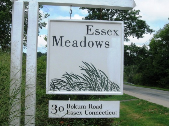 Sign at the entrance of Essex Meadows.