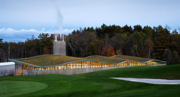 Biomass Heating Facility at The Hotchkiss School, Lakeville CT
