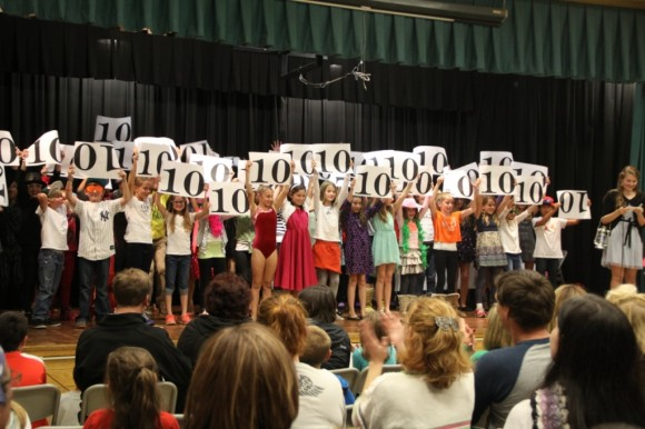 40 Essex Elementary School students were all winners in the talent showcase!