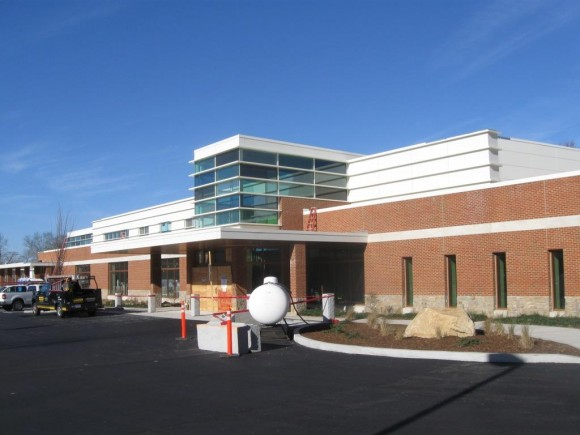 The new Westbrook medical center under construction