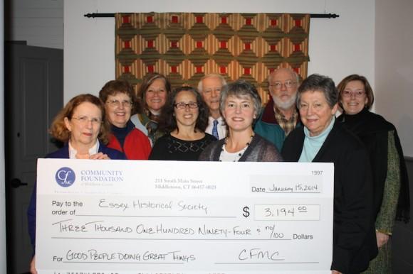 2014 CFMC grant for Phot Exhibit - EHS