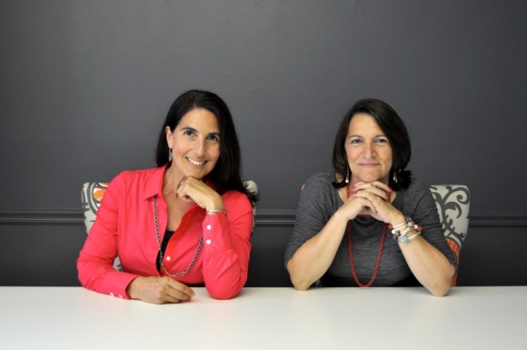 New business partners Michelle Paulson (left)  and Susan Daniels (right) have teamed up to make a difference for their marketing clients and their communities