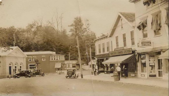 Chester Center had a good many food stores, including the A&P and Checkers Store, as well as several meat markets and even a fish market.