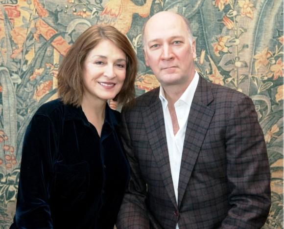 Patricia Schuman and David Pittsinger (Photo by Deborah Rutty)