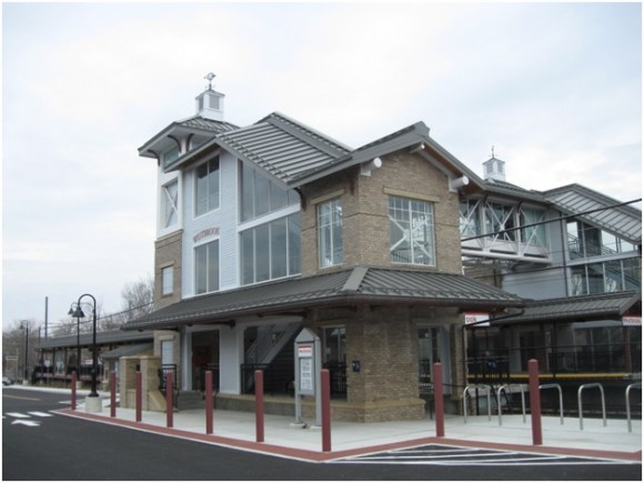 New station building at Westbrook station