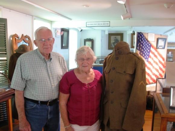 Arthur Winschel and Alice Johnson. Winschel's father was the parent of World War I veteran, William Winschel