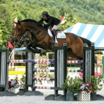 Amanda Strain and Carrara 11 won the $10,000 Marimekko Open Welcome Stake, presented by Manchester Designer Outlets, on July 17 at the 2014 Vermont Summer Festival in East Dorset, Vermont (photo courtesy of David Mullinix Photography)