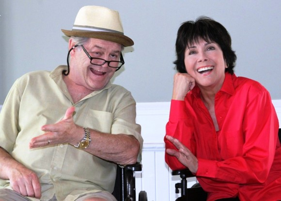 Micky Dolenz* and Joyce DeWitt* (photo courtesy of Anne Hudson).