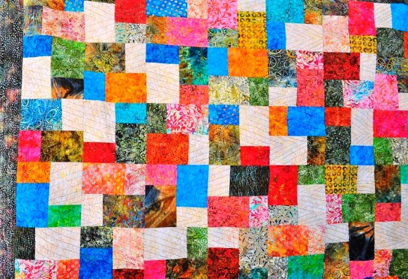 """Hearthside"" quilt by Sally Murray"