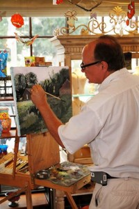 Dan Dahlstrom Pic Painting