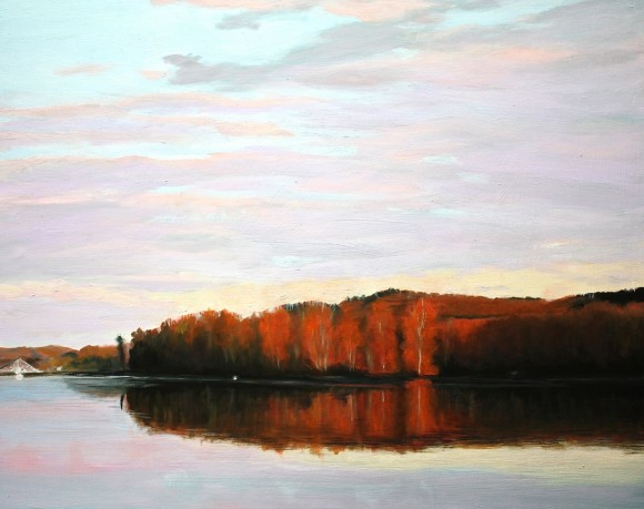 Gray Jacobik of Deep River: Connecticut River (Lord's Cove)