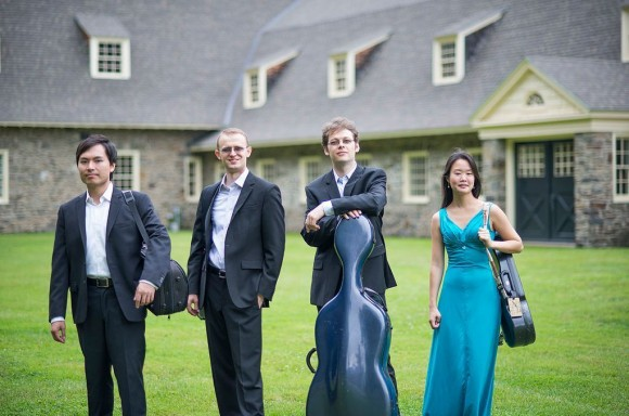 Three members of the Amphion Quartet (pictured above) will also appear in the first concert.
