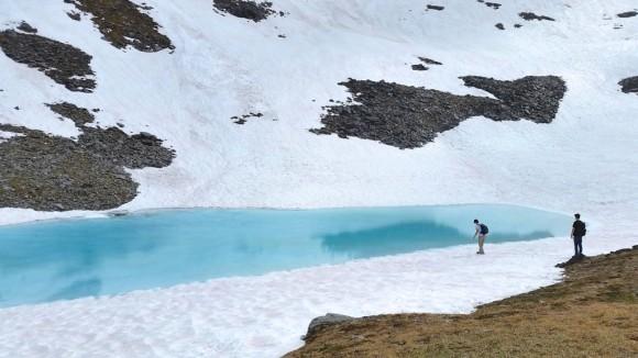 'Glacier Water in July' by Peter B. Alosky, taken July 10, 2014, at April Bowl, Hatcher's Pass, Alaska.