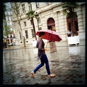 'Red Parapluie… Paris' by Leighton Gleicher, taken Jan. 3, 2014, in Paris (France)