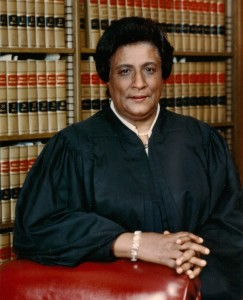 Judge Constance Baker Motley. Photo courtesy Motley Family.