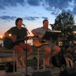 The acoustic duo Dr. Jekyll & Mr. Hyde will perform the first 2015 'Concert in the Garden.'