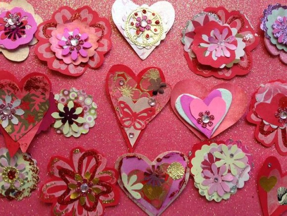 Hearts by Lisa Fatone