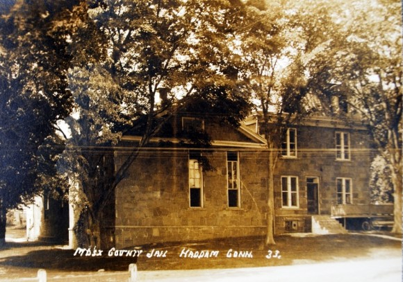 Historic image depicting the jail.