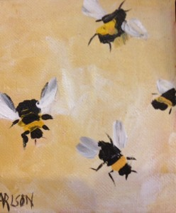 """""""The Bee's Knees"""" is one of the signature works of the exhibit."""
