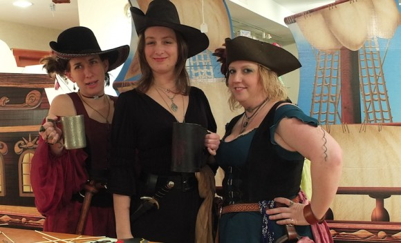 Join the pirate crew for a night of merriment and mayhem at the Connecticut River Museum on March 14.