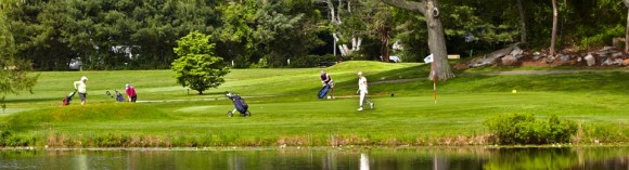 """""""Absolutely convenient. No tee times."""" That's what OLCC golfers appreciate the most. This family-friendly, low-key course is easily accessible, but sporty and challenging!"""