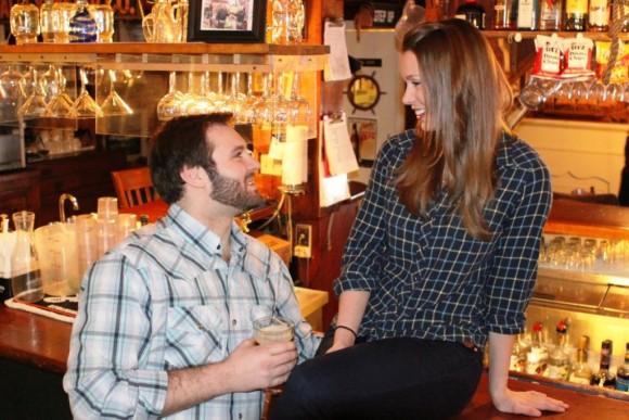 Katie Barton* and Ben Hope*.  Photo by Jacqui Hubbard