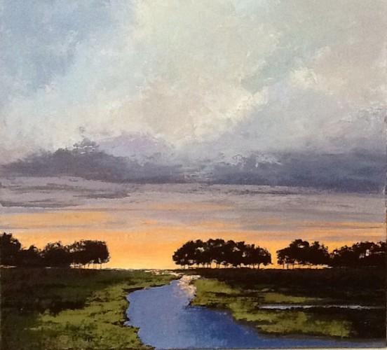 'Daybreak' by Pam Carlson of Essex.