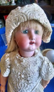 China doll dressed for auction!